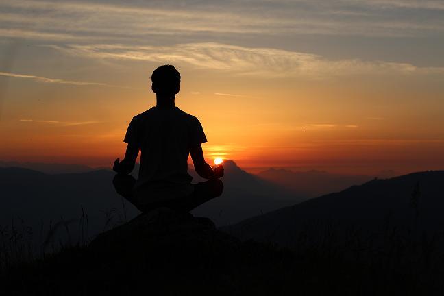 las ocho partes del Yoga: meditación