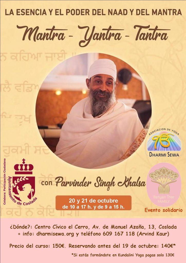 Curso con el profesor Parvinder Singh 2018