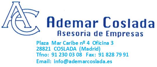 Ademar Coslada, asesoría de empresas