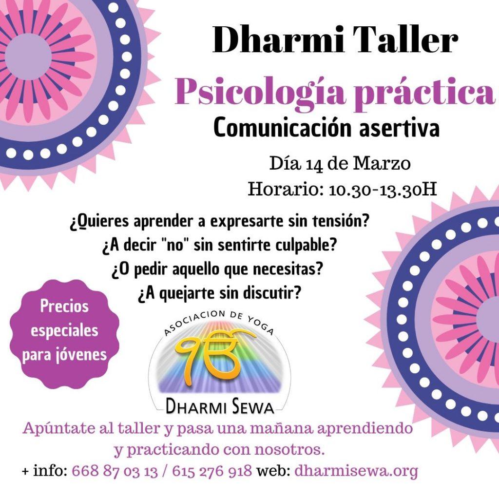 Dharmi Taller Comunicación Asertiva